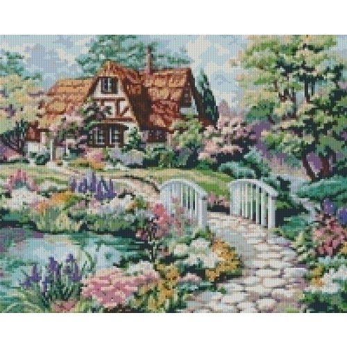 PixelHobby Pixelhobby patroon 816040 Kleurrijk landhuis