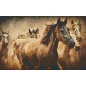PixelHobby Pixelhobby patroon 5417 Paarden