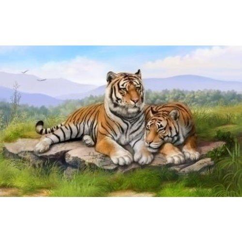 PixelHobby Pixelhobby patroon 5391 Twee tijgers