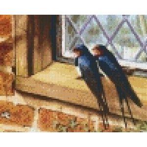 PixelHobby Pixelhobby patroon 5521 Twee zwaluwen bij het raam