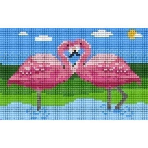 PixelHobby Pixelhobby patroon 802061 Flamingos