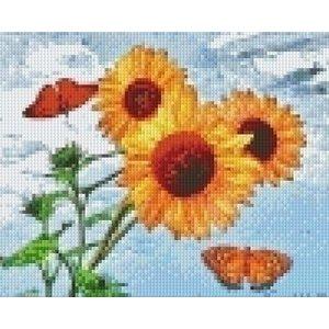 PixelHobby Pixelhobby patroon 5487 Zonnebloemen met vlinders