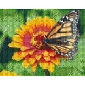 PixelHobby Pixelhobby patroon 5414 Vlinder op bloem