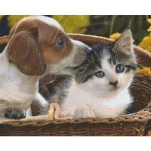 PixelHobby Pixelhobby patroon 5258 Hond en kat