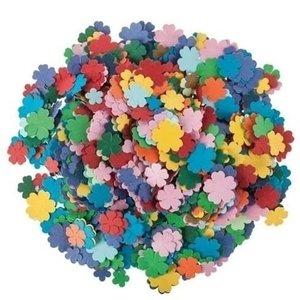 Playbox Papieren bloemen gekleurd mix 3600 stuks