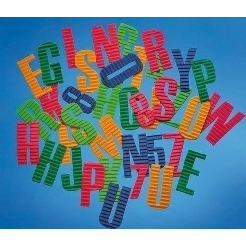 Playbox Papier letters en cijfers 540 stuks