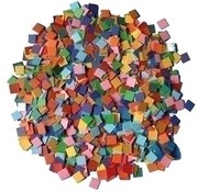 Playbox Papier mozaiek basiskleuren 10.000 stuks