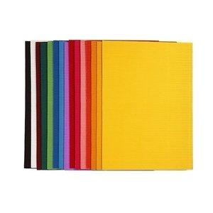 Colortime Ribbelkarton 15 div vellen 25 x 35 cm 80 gram