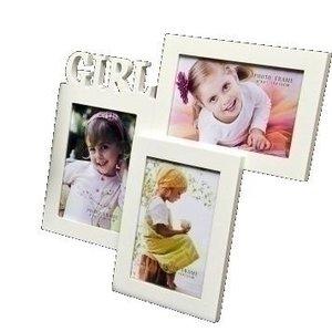 Fotolijst 3 foto's Girl