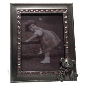 Fotolijst meisje metaal