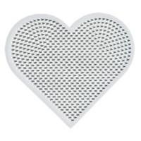 Hama mini strijkkralen grondplaat hart