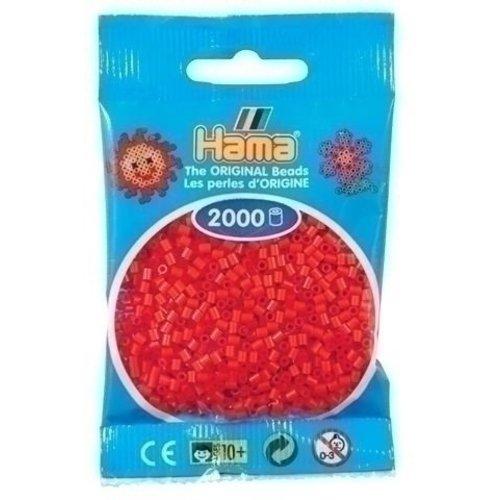 Hama Hama mini strijkkralen rood 0005