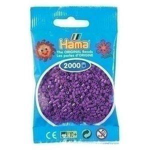 Hama Hama mini strijkkralen paars 0007