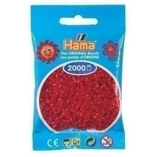 Hama Hama mini strijkkralen donkerrood 0022