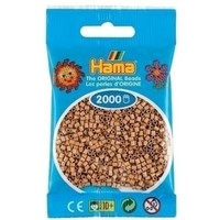 Hama mini strijkkralen lichtbruin 0075 2000 stuks