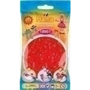 Hama Hama Strijkkralen 0013 rood doorzichtig 1000 st.