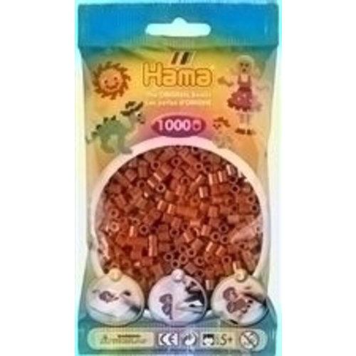 Hama Hama Strijkkralen 0020 bruin 1000 st.
