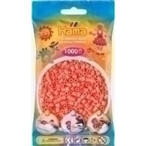 Hama Hama Strijkkralen 0044 rood pastel 1000 st.