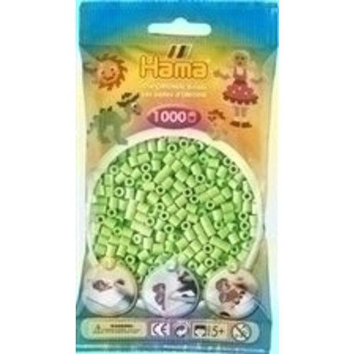 Hama Hama Strijkkralen 0047 groen pastel 1000 st.