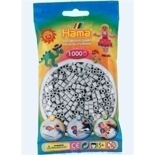 Hama Hama strijkkralen 0070 lichtgrijs