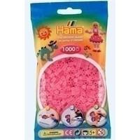 Hama strijkkralen 0072 roze doorzichtig