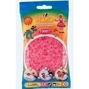 Hama Hama strijkkralen 0072 roze doorzichtig