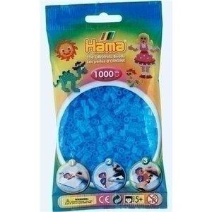 Hama Hama strijkkralen 0073 doorzichtig blauw