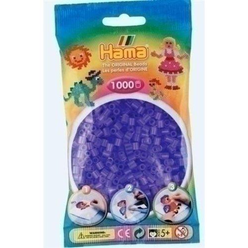 Hama Hama strijkkralen 0074 paars doorzichtig