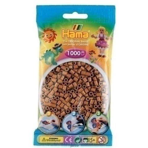 Hama Hama midi strijkkralen Nougat Bruin 0076 1000 st.