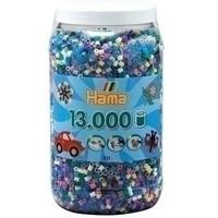 Hama midi strijkkralen 13000 st assorti 1169
