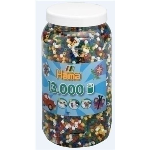 Hama Hama strijkkralen 13000 basiskleuren