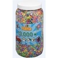 Hama strijkkralen 13000 pastel