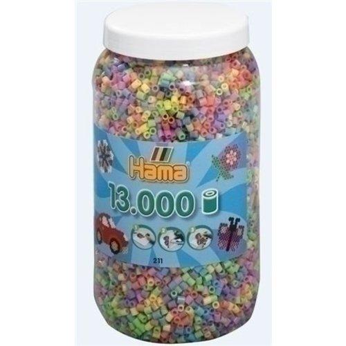 Hama Hama strijkkralen 13000 pastel