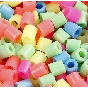 Nabbi Nabbi strijkkralen pastelkleuren mix 20000 stuks