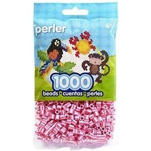 Perler Perler strijkkralen 1000 st Pink Candy Stripe 15109