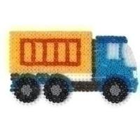 Hama strijkkralen grondplaat Truck 314