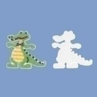 Hama Strijkkralen Grondplaat Krokodil 259
