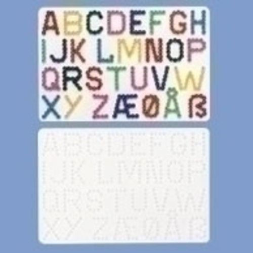 Hama Hama Strijkkralen Grondplaat Letters 272