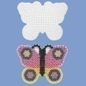 Hama Hama strijkkralen Grondplaat Vlinder 298