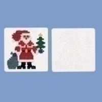 Hama Strijkkralen Grondplaat Kerstman 284
