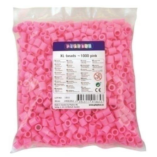 Playbox Playbox XL Strijkkralen Roze 1000 stuks