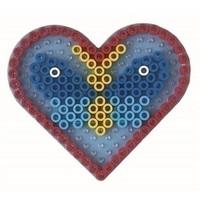 Hama maxi strijkkralen grondplaat hart 8206