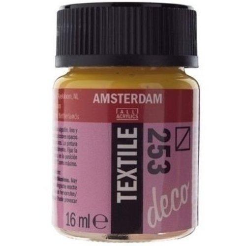 Talens Amsterdam Amsterdam Deco Textielverf 16 ml - 253 Goudgeel