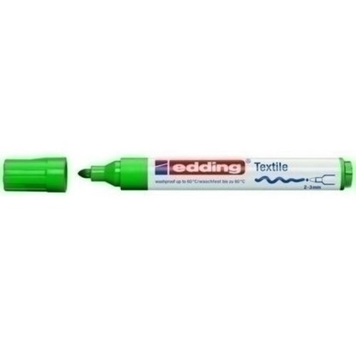 Edding Edding 4500 Textielstift Groen 004 2-3 mm
