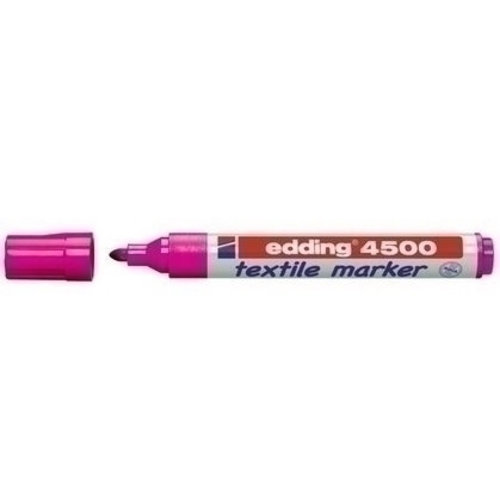 Edding Edding 4500 Textielstift Roze 009 2-3 mm
