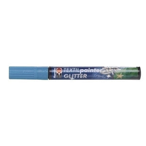 Marabu Marabu Textielstift Plus 3 mm 592 Glitter Petrol