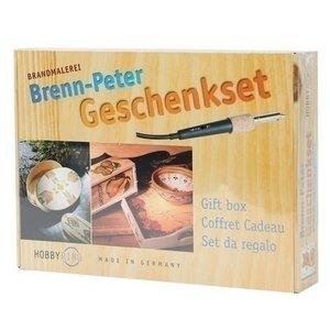 Hobbyring Brenn Peter houtbrander geschenkset