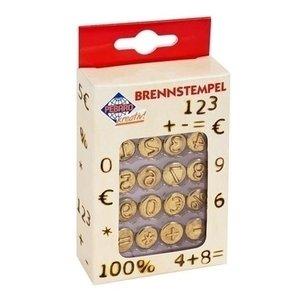 Pebaro Brandstempels nummers en tekens