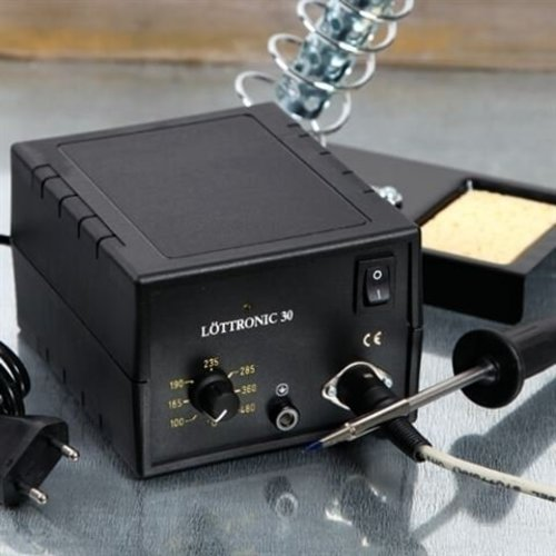 Lottronic 30W Soldeerstation regelbaar 100-450° C