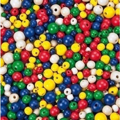 Eduplay Houten Kralen Basiskleuren 250 gram 200106